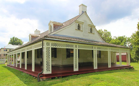 Woodville Plantation, the John and Presley Neville House