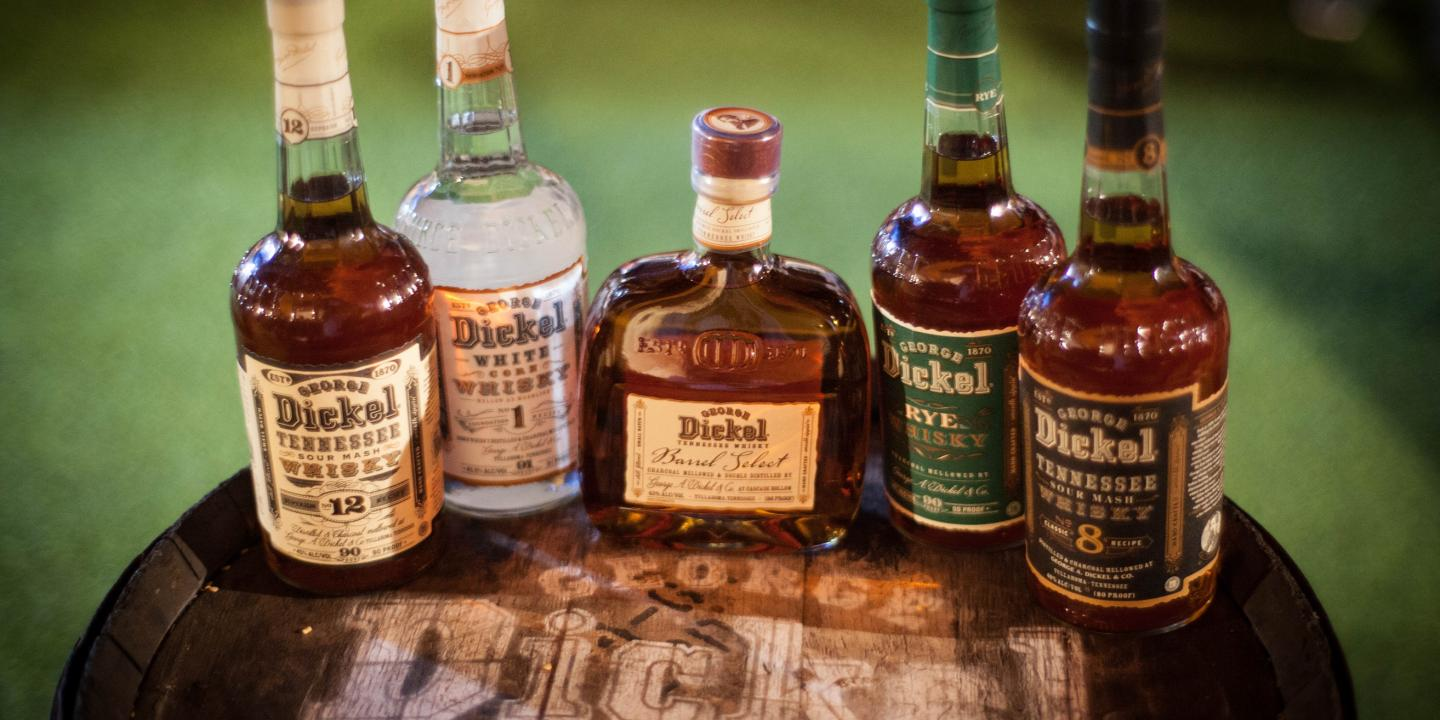 George Dickel Bottle Shot