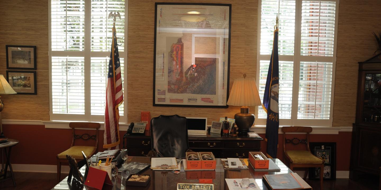 Tom Bulleit's Office
