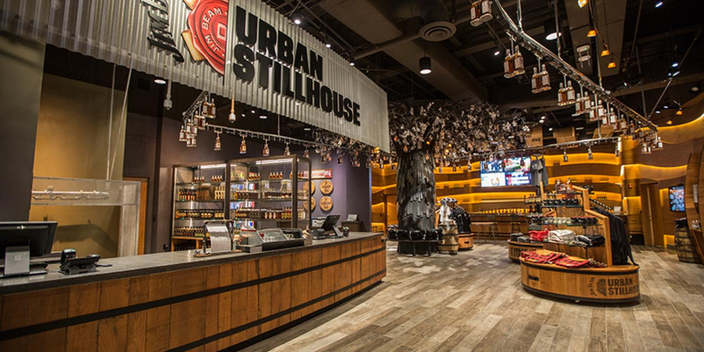 Jim Beam Urban Stillhouse, Louisville, KY