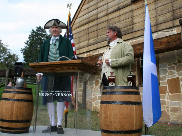 Scotch whisky marks new chapter at George Washington's Distillery